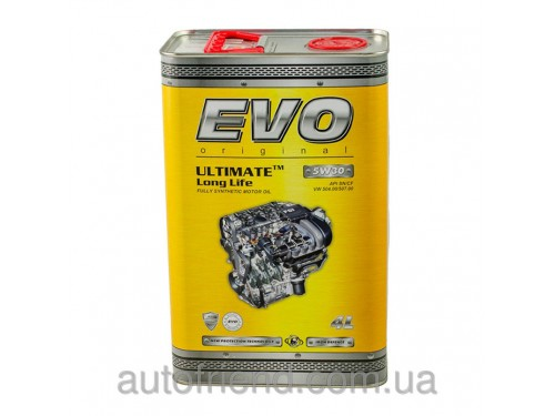 EVO ULTIMATE LongLife 5W-30 Моторное масло 4л