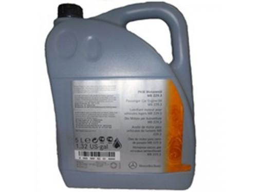 MERCEDES-BENZ Engine Oil 5W-40 (229.3) 5 л