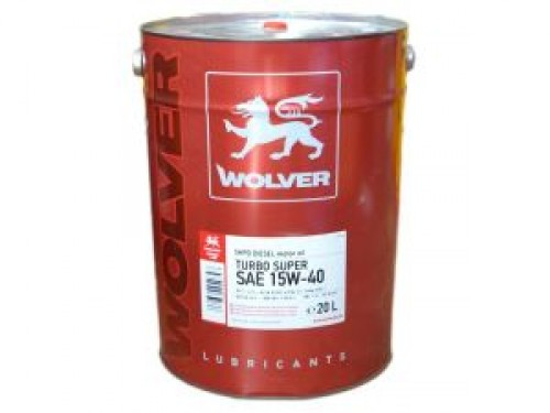 WOLVER Turbo Super 15W-40 20л