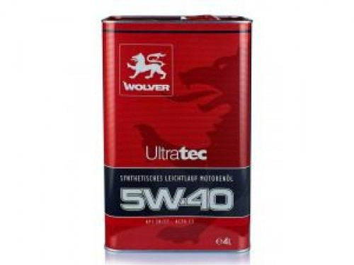 WOLVER Ultratec 5W-40 4л